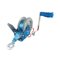 Ark Manual Boat Trailer Winch 900kg Capacity with Magnetic Snap-on Handle