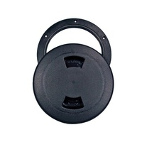 Inspection Port Plastic with Full Cover Lid