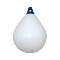 Inflatable Teardrop Fenders/Buoys with Blue Tops