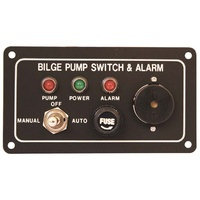 Bilge Alarm & Pump Control Switch Panel 12v