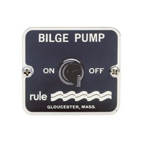 Bilge Pump Switch Panel Rule On/Off