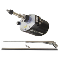 Windshield Wiper Kit with Motor Switch - 12v
